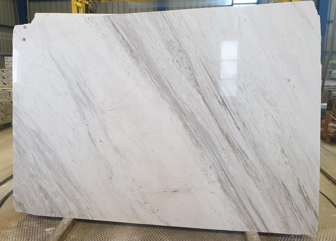 Volakas White Marble Slabs Polished Greek White Marble Slabs