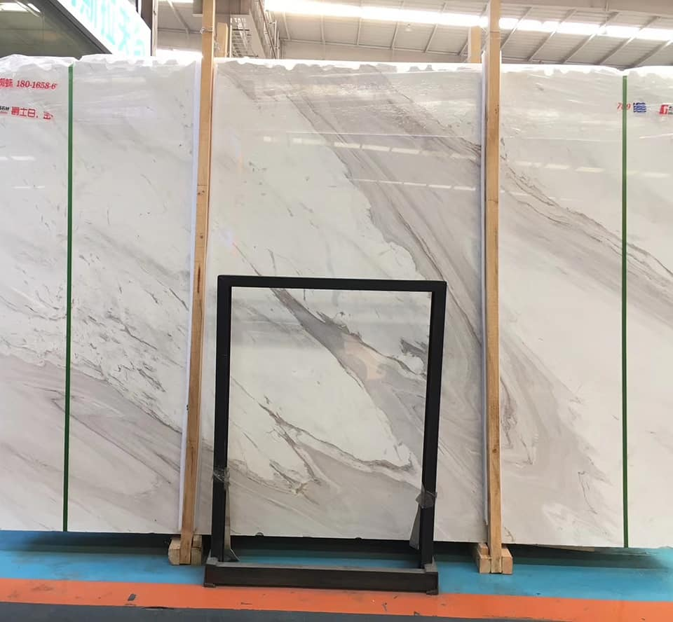 Volakas White Marble Slabs White Natural Stone Polished Slabs