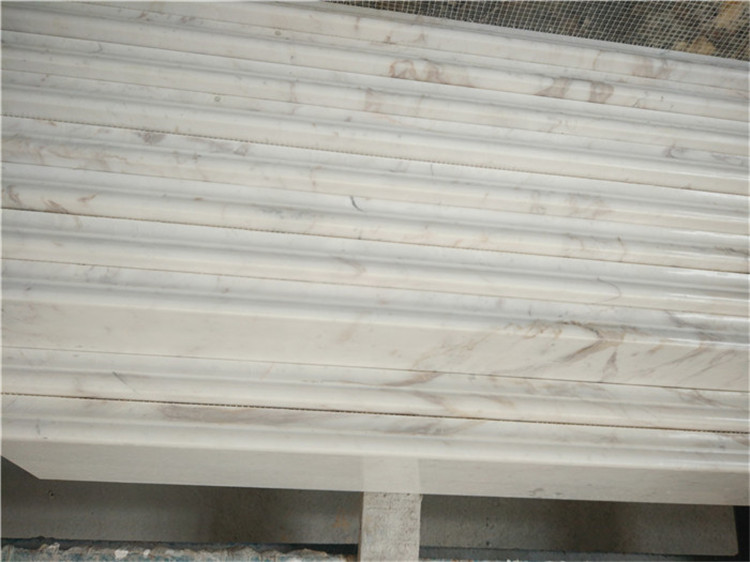 Volakas White Marble Stairs from Greece