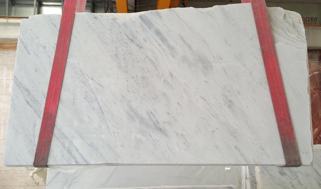 Volakas White Slabs Polished White Marble Turkish Marble Stone Slabs