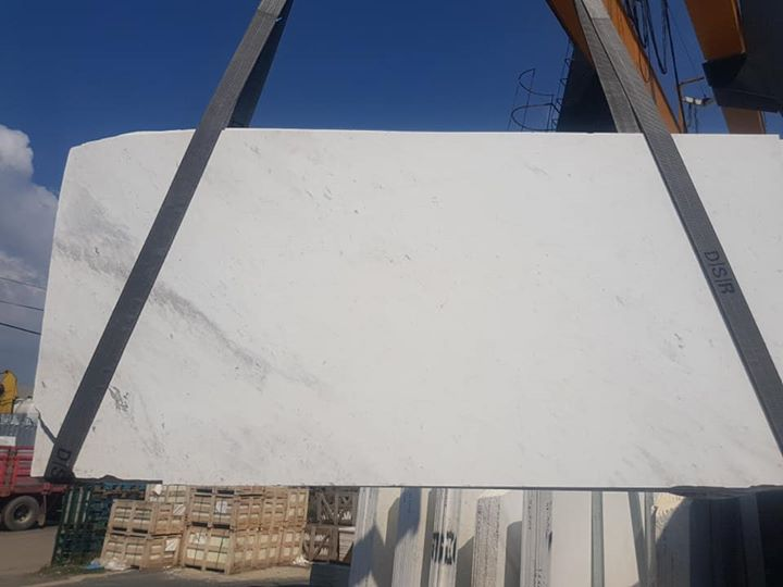 Volakas White Turkish Marble Slabs