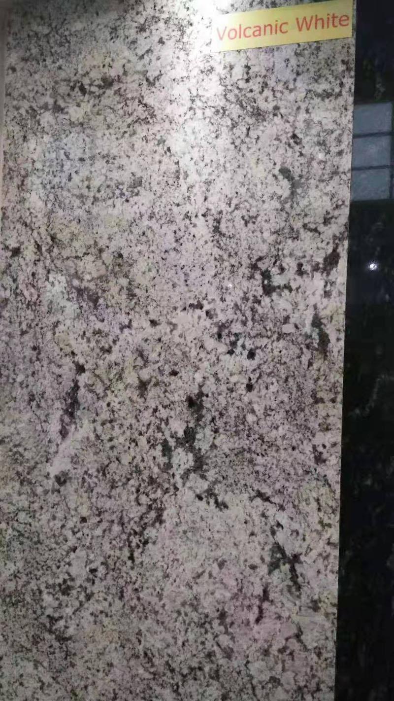 Volcanic White Granite Slabs