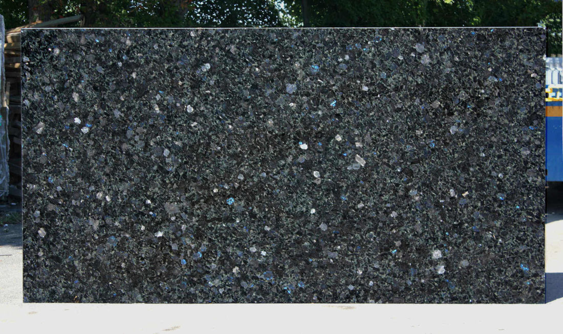 Volga Blue Granite Slabs Polished Blue Slabs