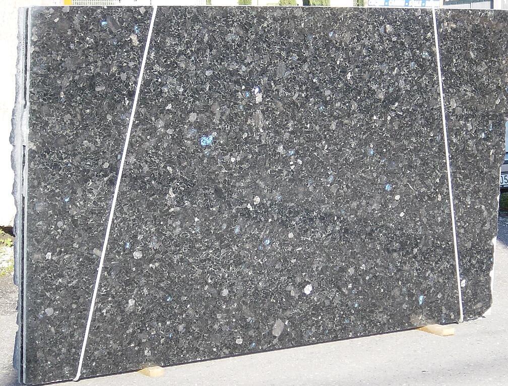 Volga Blue Granite Slabs for Kitchen Countertops