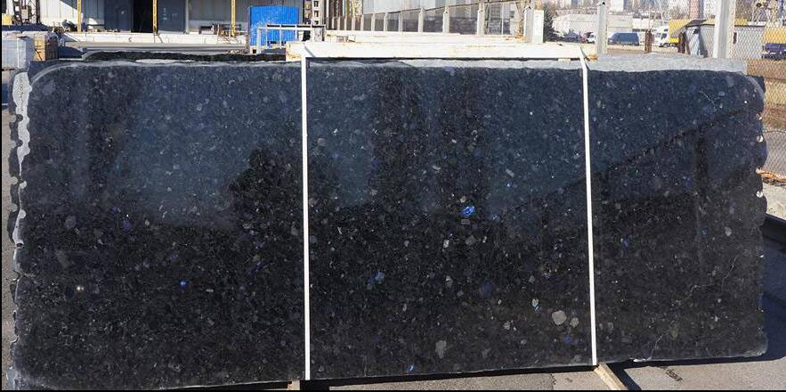 Volga Blue Polished Granite Slabs