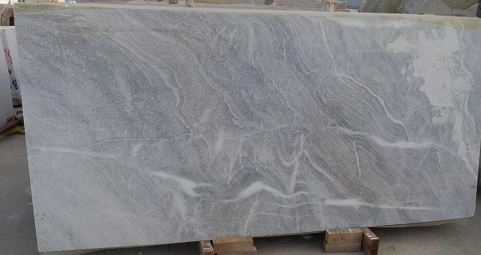Volos grey cloud marble