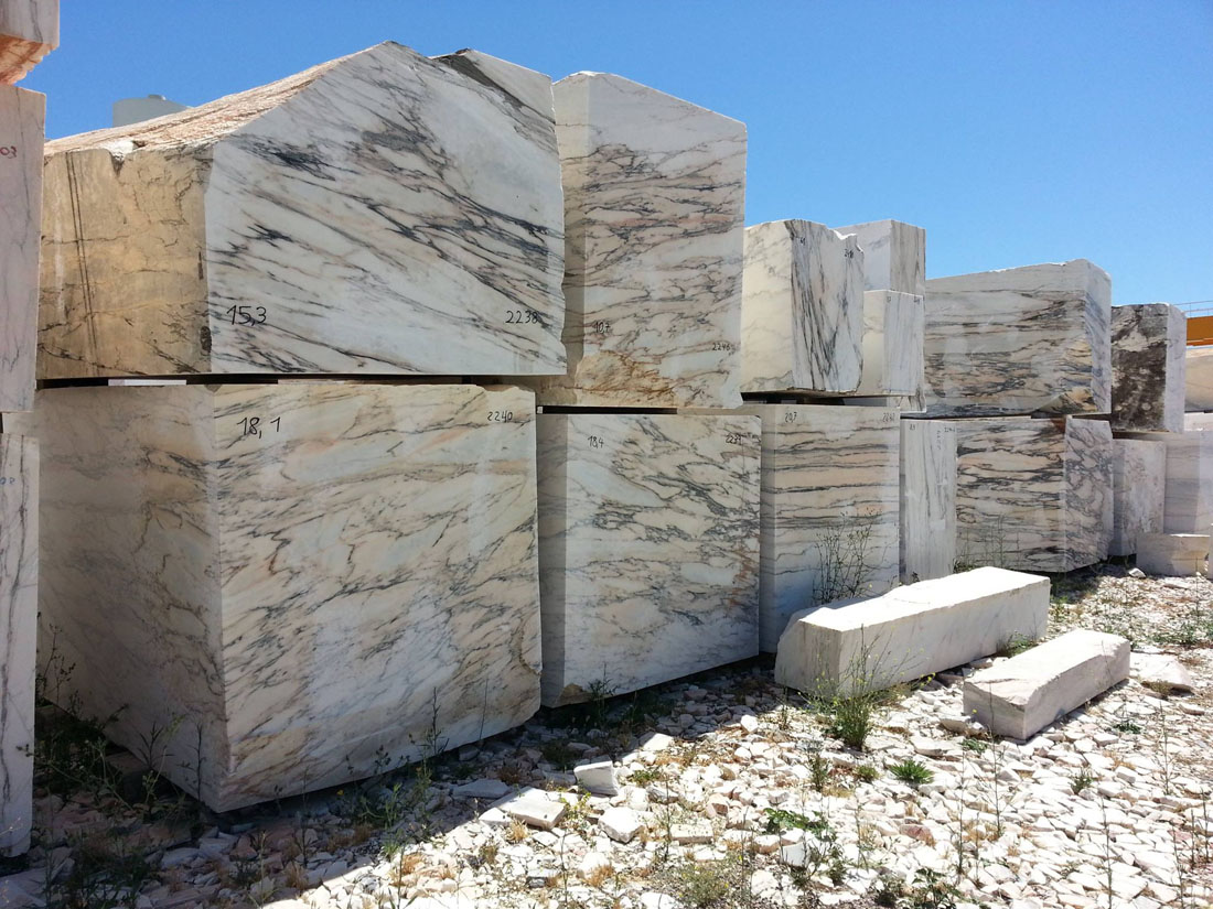 Vulcanatta Marble Blocks Portuguese Natural Marble Blocks