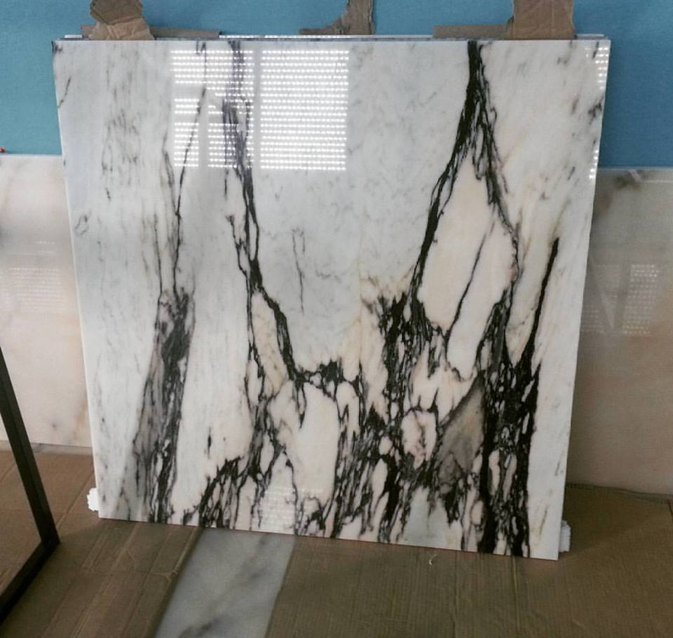 Vulcanatta Marble Tile Polished White Marble Tiles