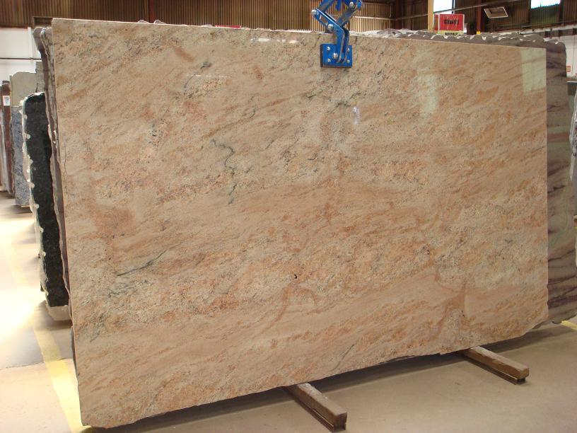 Vyara Gold Granite Polished Yellow Granite Slabs