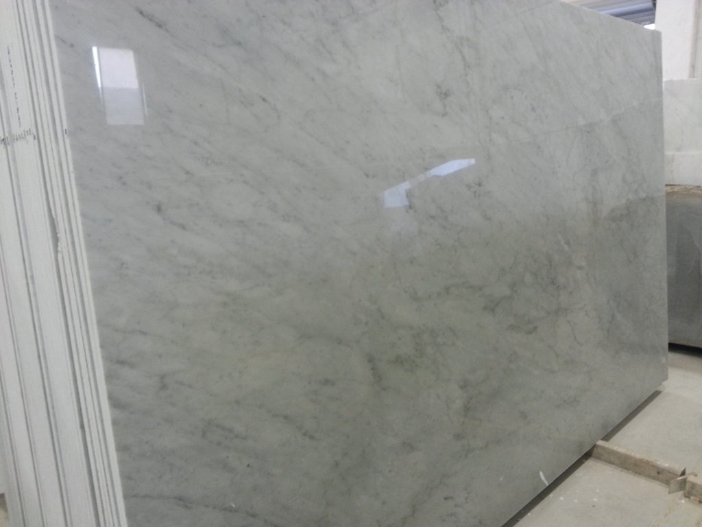 White Carrara CD Marble Slabs