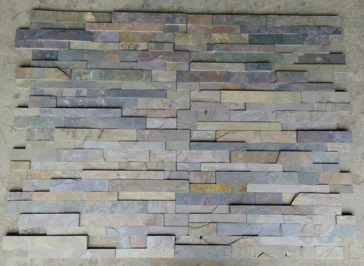 Wall Cladding Grey Slate Culture Stone for Walling