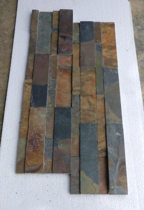 Wall Cladding Indian Slate Culture Stone for Walling