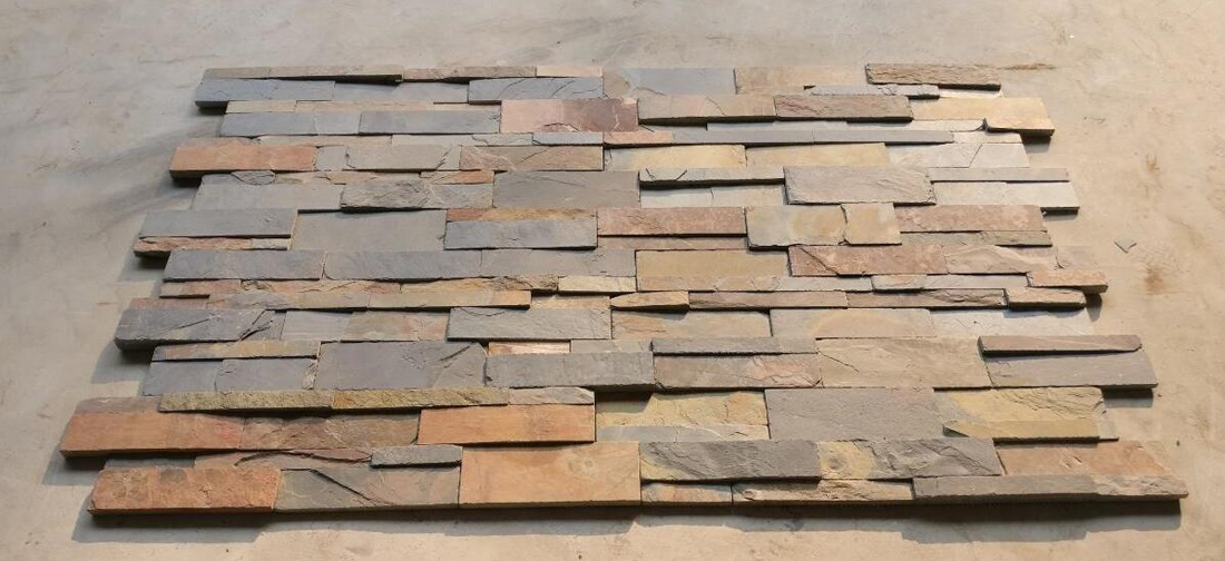 Wall Cladding Slate Culture Stone from India