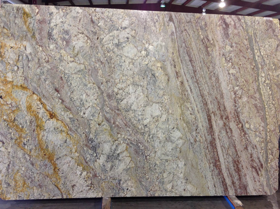 Waterfall Supreme Granite Polished Slabs for Kitchen Countertops