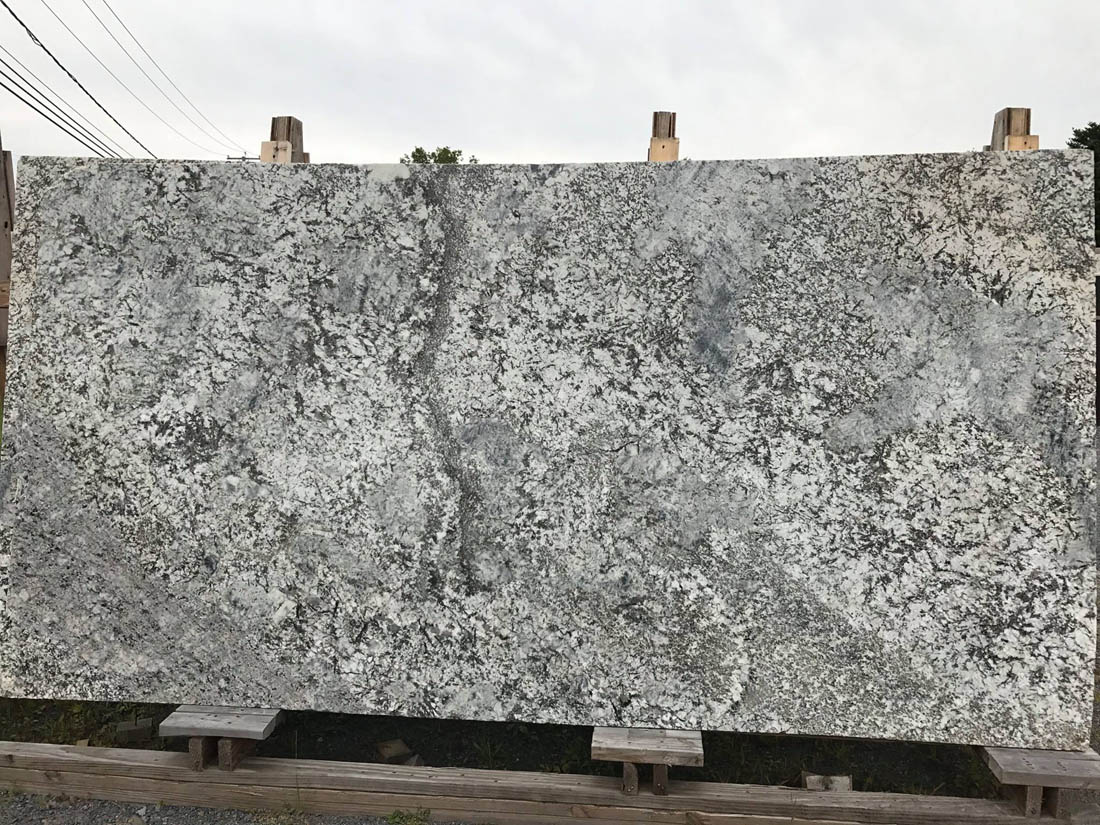Whisper White Slabs from India