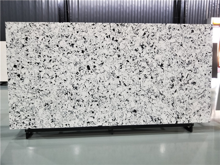 White Artificial Quartz Slab