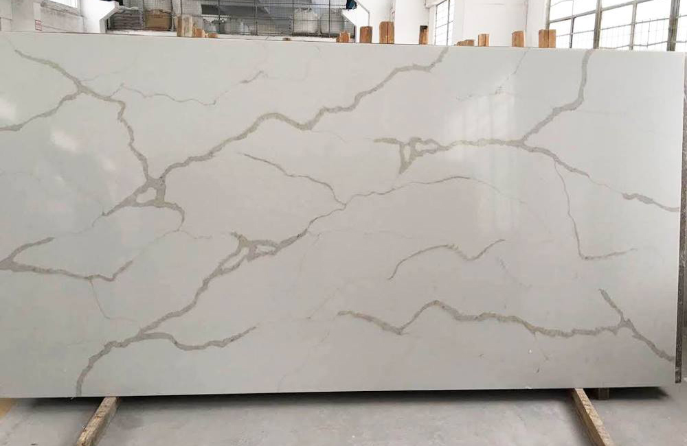 White Artificial Stone Slabs Quartz Slabs with High Quality