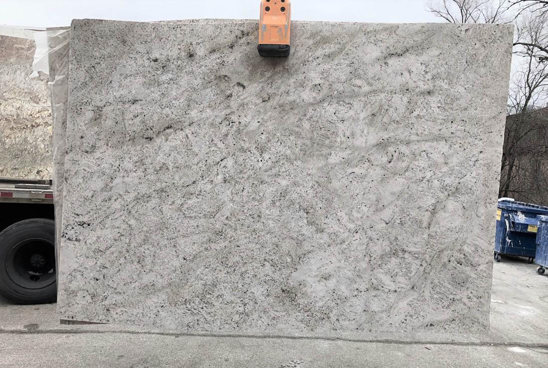 White Bahamas Slab Brazil White Granite Stone Slabs