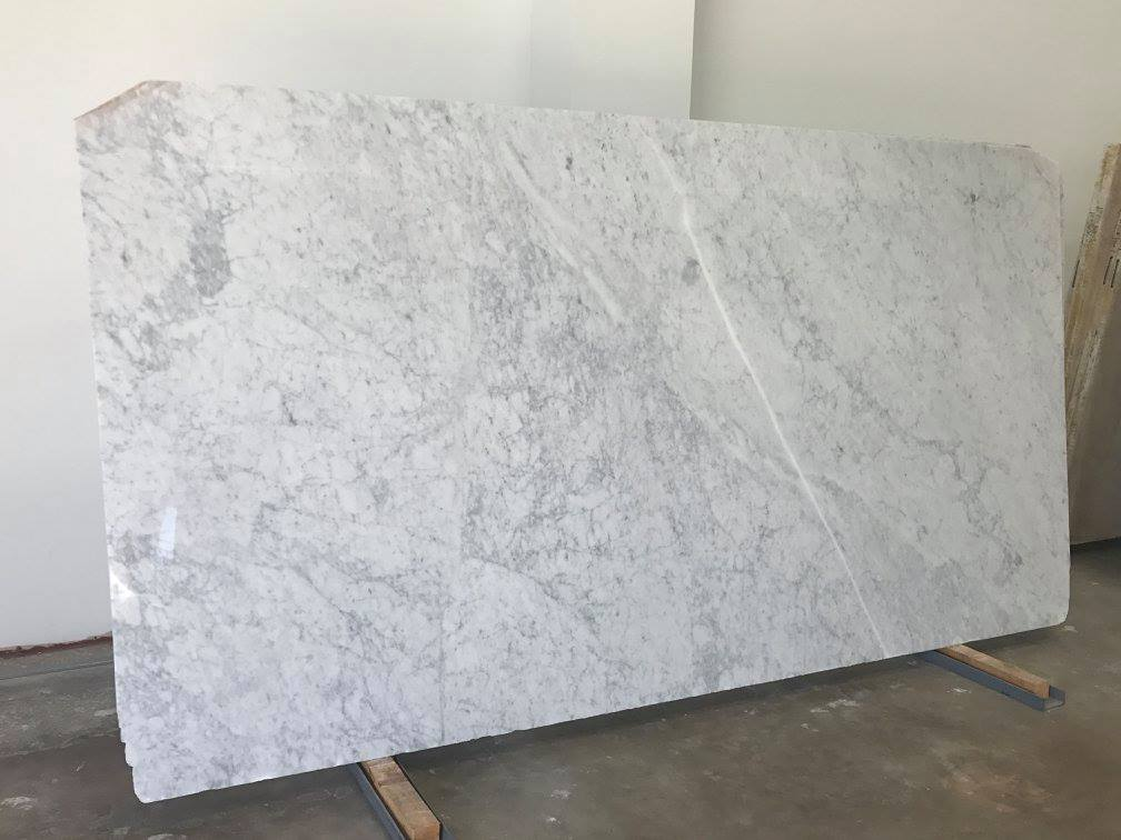 White Carrara Marble Slabs Polished Natural Marble Slabs