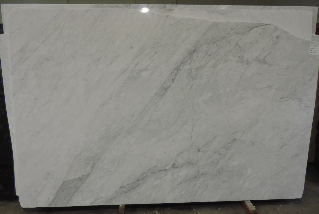 White Carrara Marble Slabs Polished White Italian Marble Slabs