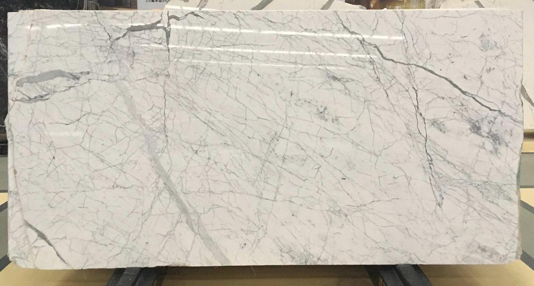 White Carrara Stone Slab Polished Marble Slabs
