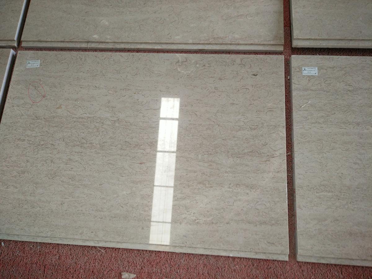 White Crabapple Marble Tiles