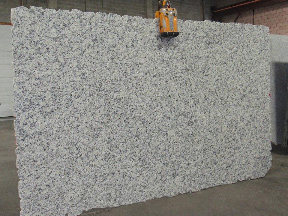 White Dallas Granite Slabs Brazilian White Granite Slabs