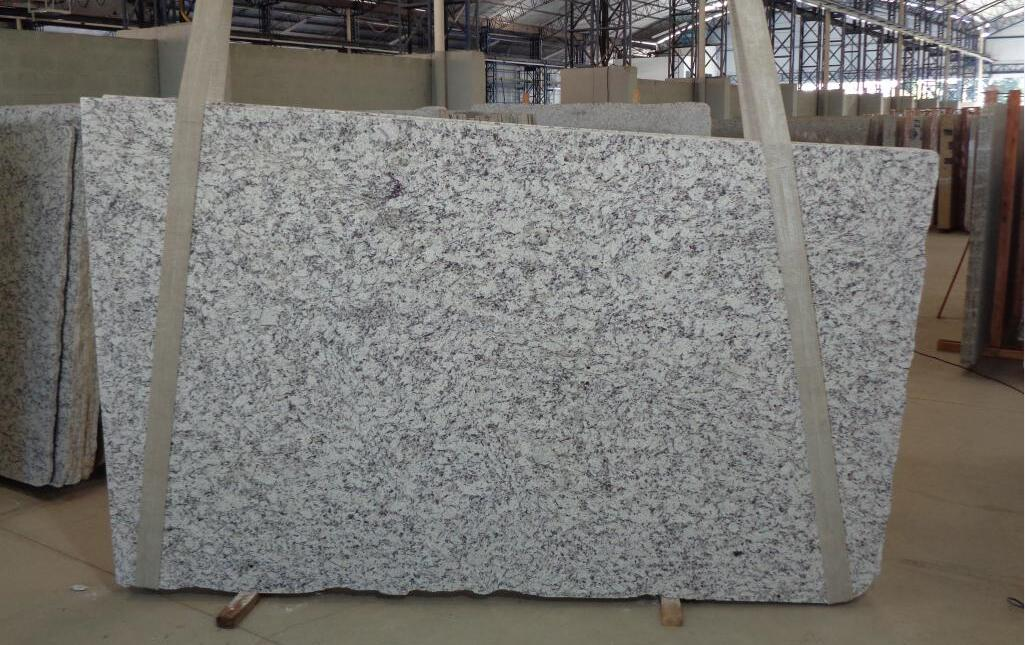 White Dallas Granite Stone Slabs White Polished Stone Slabs