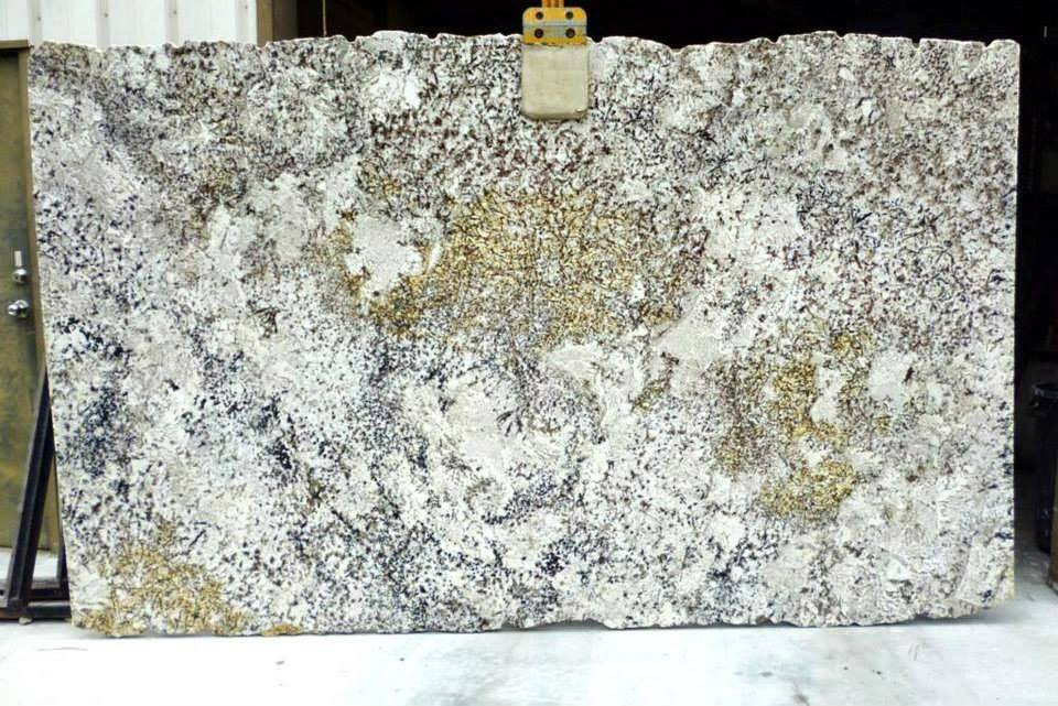 White Delicatus Granite Slabs Polished White Granite Slabs
