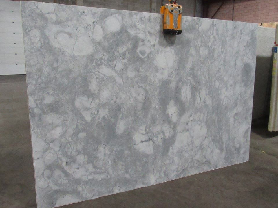 White Fantasy Granite Brushed Granite Slabs