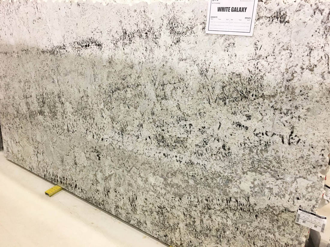 White Galaxy Granite Indian White Granite Slabs