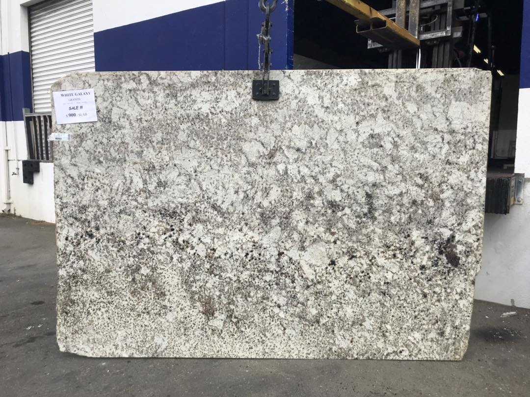 White Galaxy Granite Slab White Indian Granite Slabs