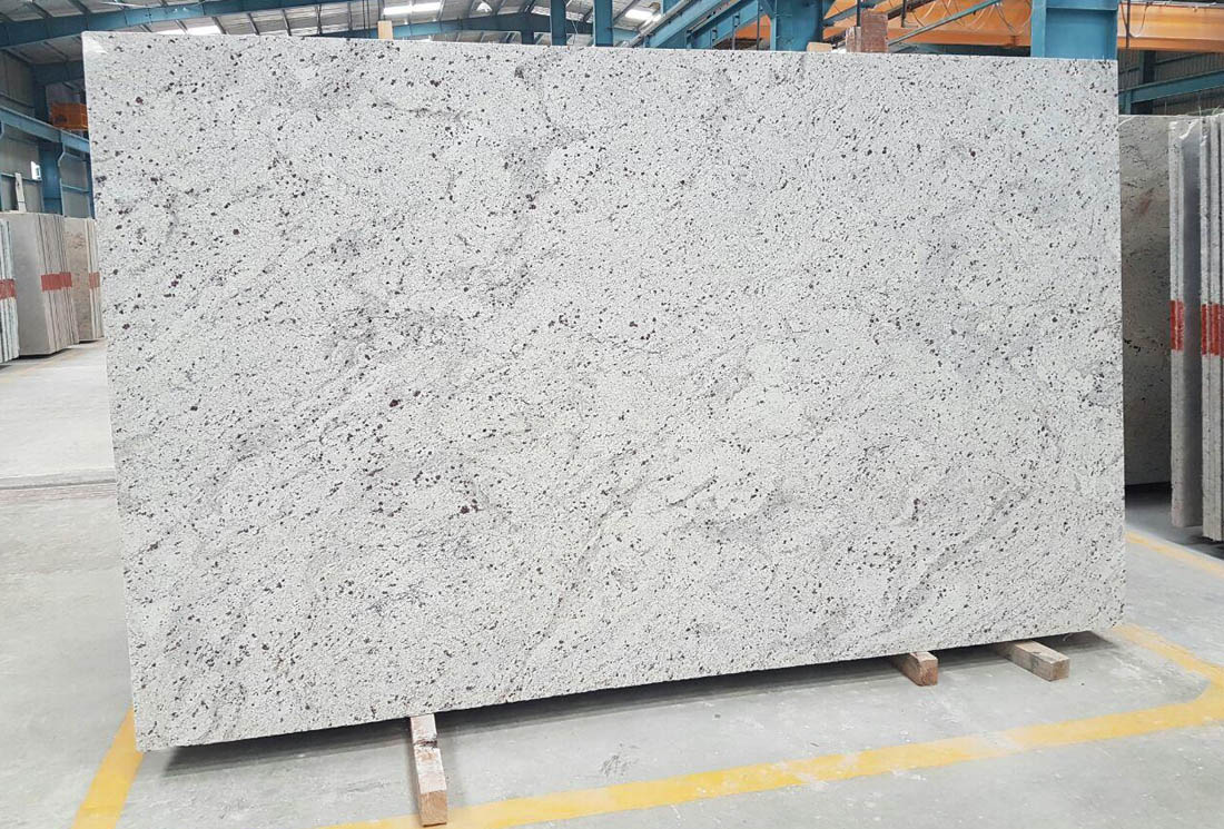 White Galaxy Granite Slabs Polished White Granite Slabs