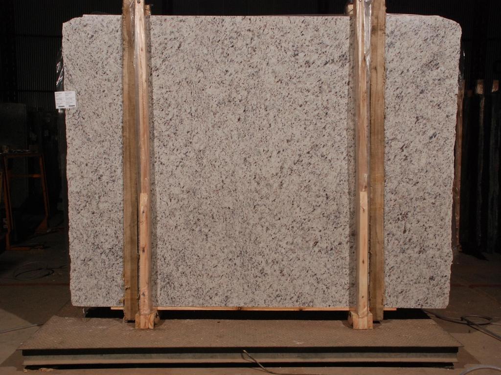 White Granite Slabs for Kitchen Countertops