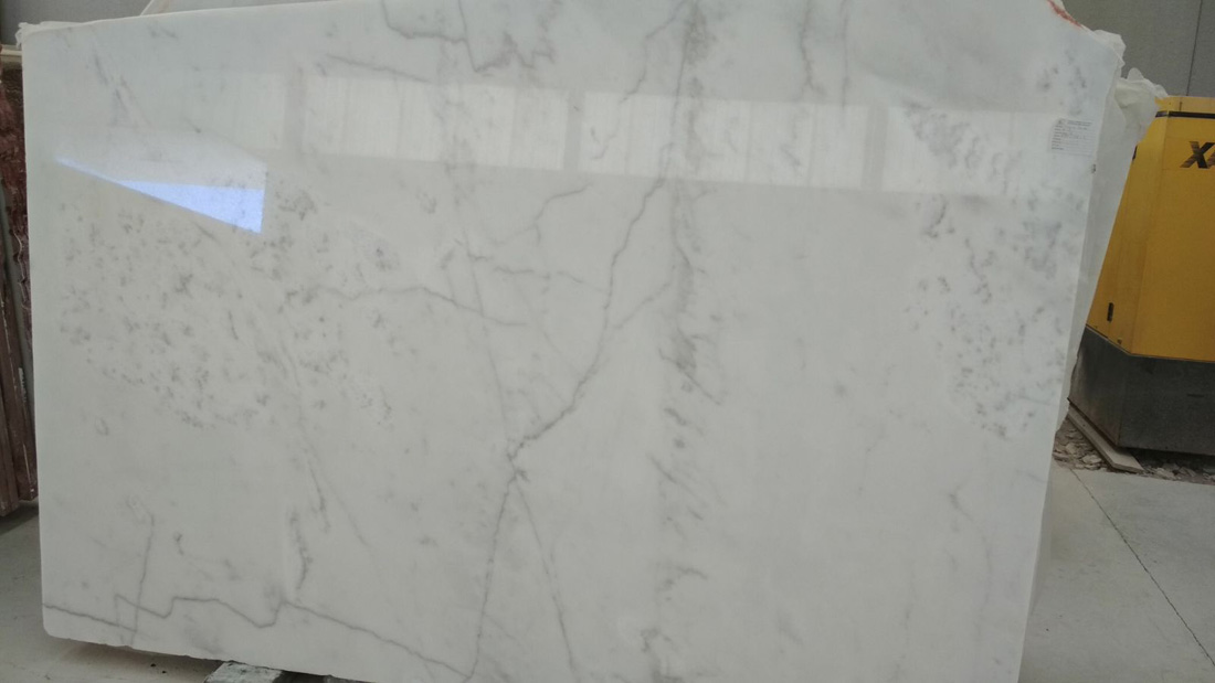 White Ibiza Polished Slabs
