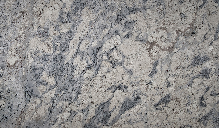 White Ice Granite Color