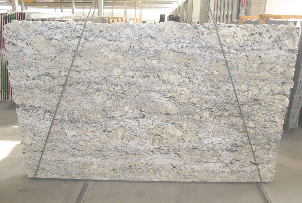 White Ice Granite Slabs Polished Brazilian Granite Slabs