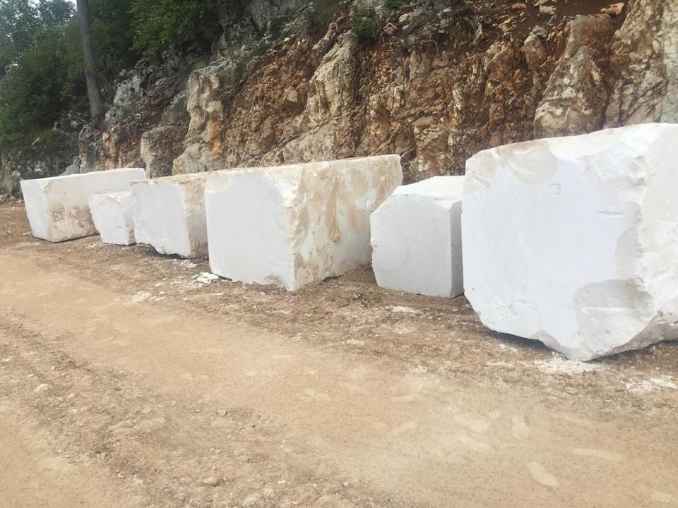 White Limestone Blocks Turkish Natural Limestone Blocks