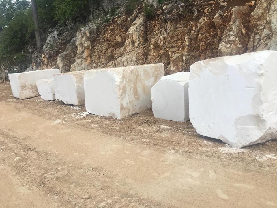 White Limestone Blocks Turkish Natural Limestone Blocks
