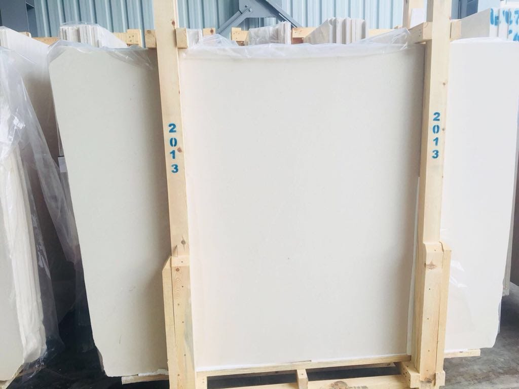 White Limestone Slabs Turkish Limestone Slabs