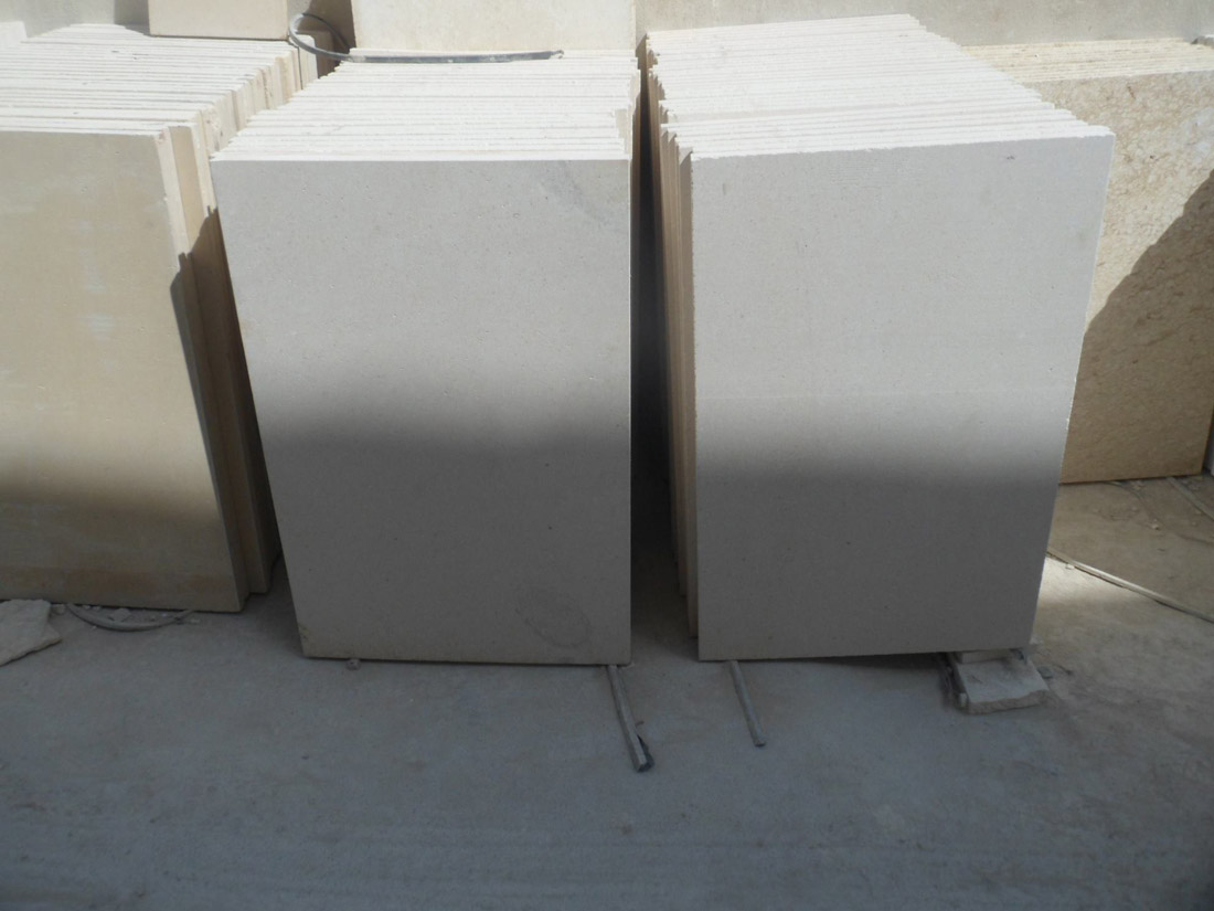 White Limestone Stone Tiles from Pakistan