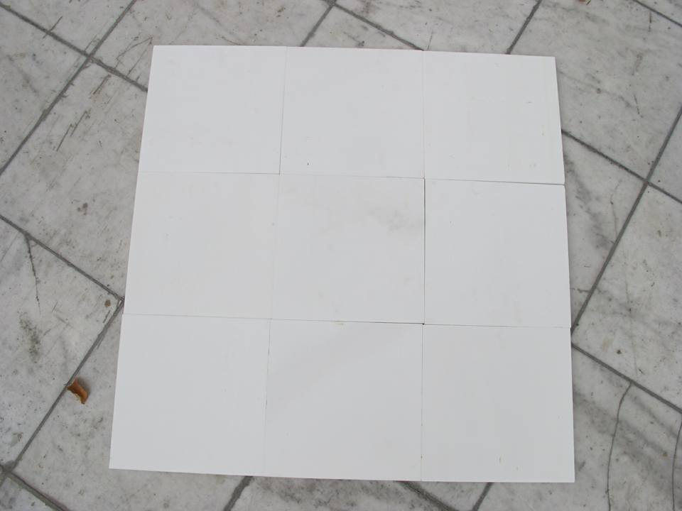 White Limestone Tiles for Flooring