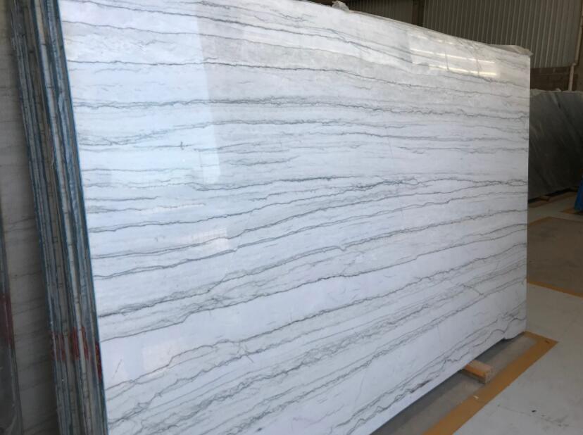 White Macaubas Quartzite Polished Slabs Brazil Quartzite White Slabs