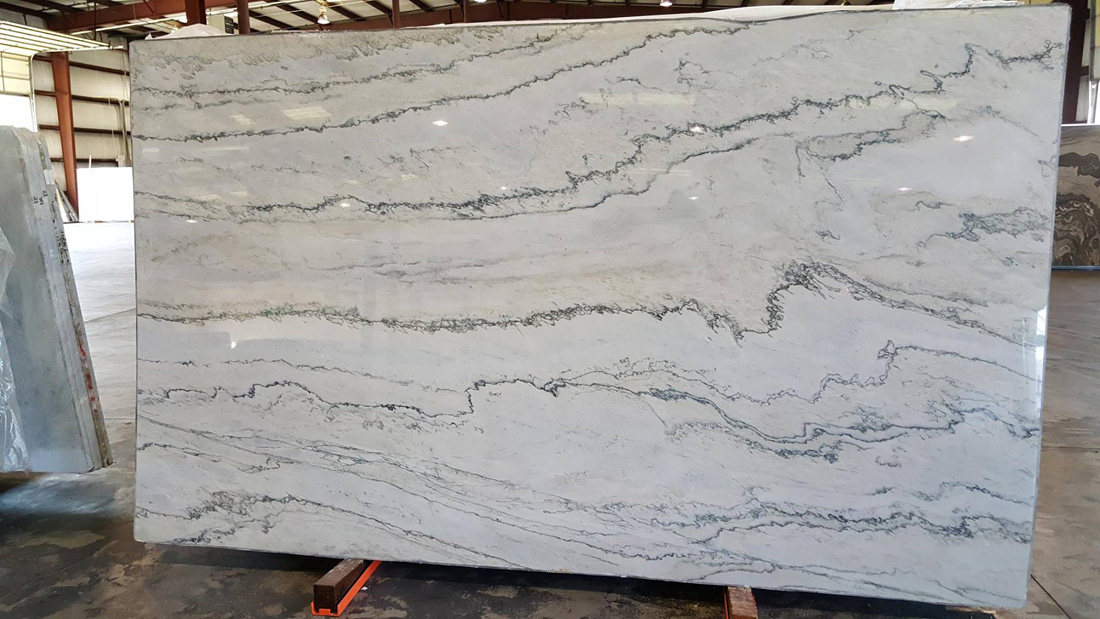 White Macaubas Quartzite Polished Slabs