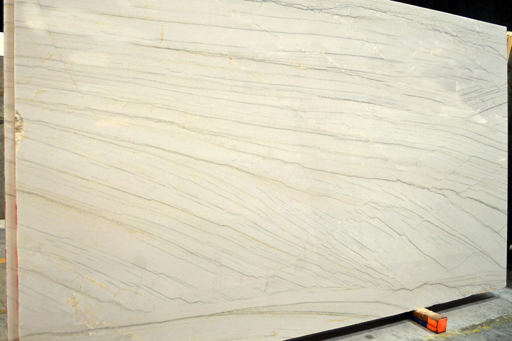 White Macaubas Quartzite Slabs Brazilian Quartzite Stone Slabs