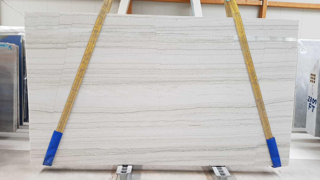 White Macaubas Quartzite Slabs