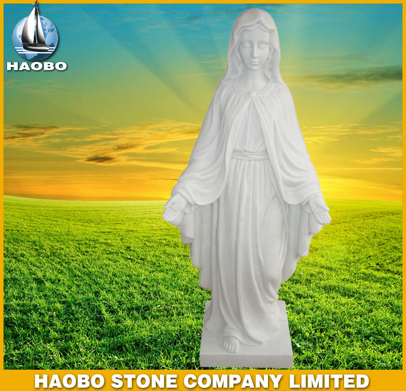 White Marble Angel Statues HBSA002