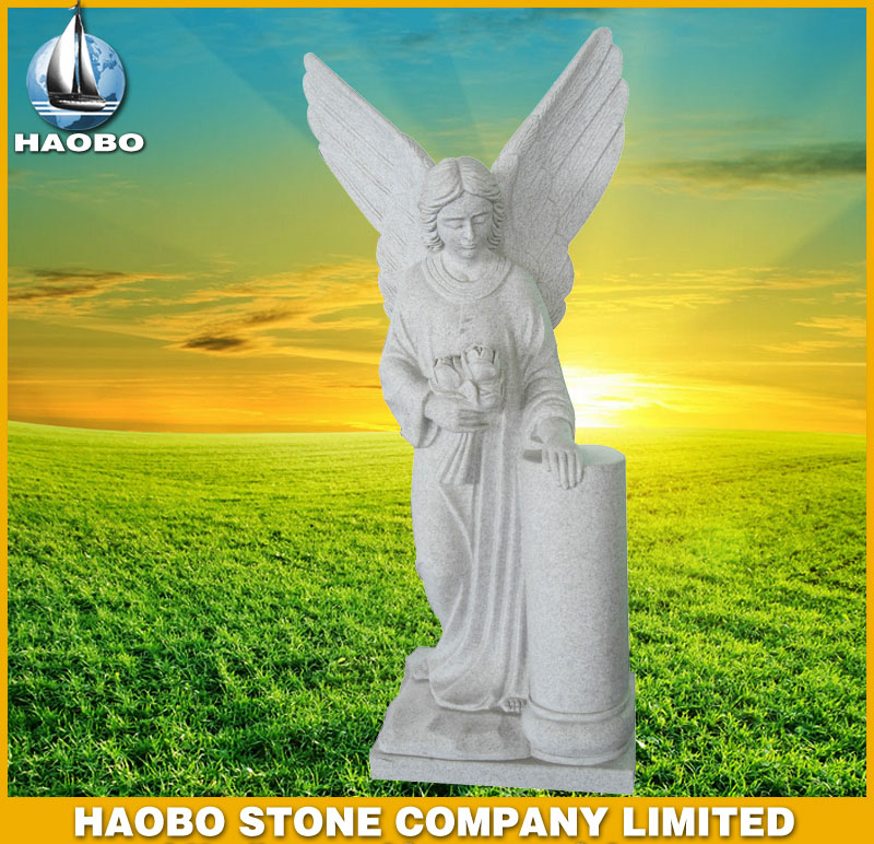 White Marble Angel Statues HBSA003