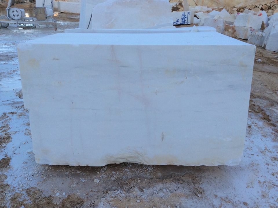 White Marble Blocks Bianco Dolomite Block