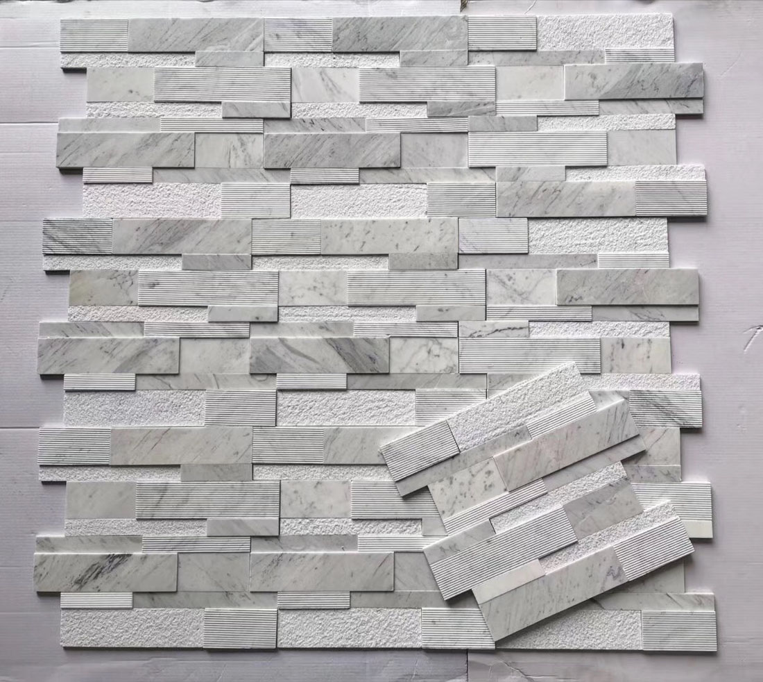 White Marble Culture Stones for Walls